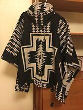 PENDLETON Chaparral Wool Blanket Cape Shawl Poncho Harding NWT
