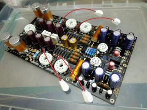 HiFi Vacuum Tube Headphone Amplifier DIY Kit Stereo Audio Amp Board