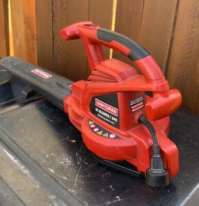 craftsman leaf blower/vacuum