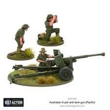 Australian 6-pdr anti-tank gun (Pacific) - BOLT ACTION - WARLORD GAMES -