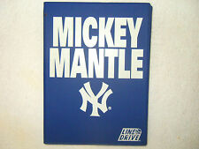 MICKEY MANTLE 1991 IMPEL LINE DRIVE 20 CARD SET WITH TALKING BASEBALL CARD
