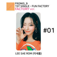 FROMIS_9 - FUN FACTORY Official Photocard - LEE SAE ROM #01 (FACTORY Ver.)
