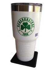 Panathinaikos A.O. PAO White Insulated Tumbler Mug Greece Greek Football -Soccer