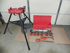 Ridgid 700 Power Threader 115v12r Set 12 2case Oiler Rigid Complete