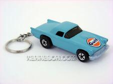 Custom Keychain 1957 Ford Thunderbird Gulf Turquoise