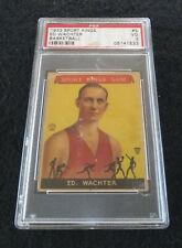1933 Goudey Sport Kings #5 Ed Wachter Rookie PSA VG 3
