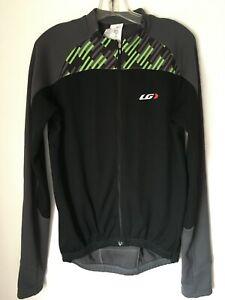 Men's Gray Louis Garneau LG Thermal Cycling Jacket LARGE