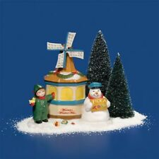 """Dept. 56 Snow Village Accessory """"The Windmill Wishing Well"""" ~ Retired ~ Cute!!!!"""