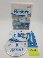 Wii Sports Resort (Wii, 2009) Complete w/ Case, Manual, Booklets! No Scratches!