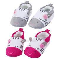 UN3F Newborn Baby Boys Girls Cartoon Warm Shoes Soft Sole First Walker Toddler
