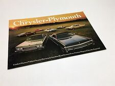 1973 Chrysler Imperial New Yorker Plymouth Satellite Fury Barracuda Brochure