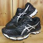 Asics Gel Nimbus 17 Womens Black Trainers UK 6 Running Shoes T557N Eur 39.5 US 8