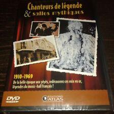 NEUF SCELLE JOHNNY HALLYDAY CHARLES AZNAVOUR... DVD ATLAS CHANTEURS DE LEGENDES