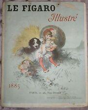 Jules Chéret illustrateur Affiche publicitaire LE FIGARO Lithographie CHAIX 1885