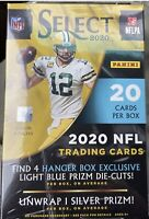 2020 PANINI SELECT NFL 20 CARD HANGER BOX - Factory Sealed Prizm Exclusive NEW
