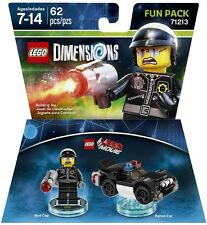 LEGO Dimensions The LEGO Movie Bad Cop and Police Car (71213) NEW