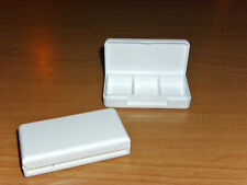 2,Pillendosen,3 Fächer,Tagesbox,Pillendose,Tablettedose,Pillenbox,Tablettenbox