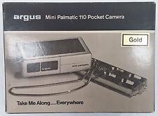 Rare Vintage Argus Mini Palmatic 110 Pocket Camera Kodakcolor II Film 110 NEW E3
