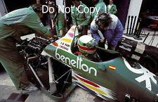 TEO FABI BENETTON B186 Gran Premio di Spagna 1986 Fotografia