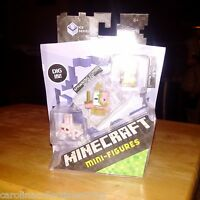 Mattel Minecraft Mini-Figures DPY67  - Killer Rabbit, Zombie Pigman, Alex
