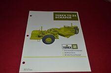 Terex TS-24 Scraper Pan Dealer's Brochure DCPA6 ver6