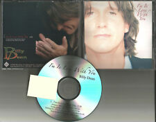 BILLY DEAN I'm in love with you TST PRESS PROMO DJ CD Single 2009 USA MINT