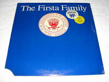 """The Firsta Family"" 1972 Comedy LP, SEALED/ MINT!, Original Poppy Pressing"