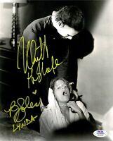 Nick Castle PJ Soles autographed signed inscribed 8x10 photo Halloween PSA COA