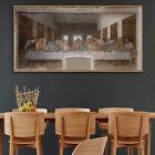 Jesus Last Supper Oil Paint Silk Canvas Poster Vinci Art Wall Decor A350 Unframe