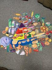 Vtg The Story Teller Felt Play Food Pyramid Healthy Eating Nutrition Education