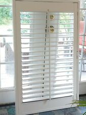 "Interior Solid Wood Plantation Shutters_White_25 1/8 "" W x 48 1/2"" L"