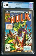 The Incredible Hulk #263 CGC 9.8  Resurrection of Night Flyer, Hulk vs Landslide