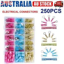 240pcs Heat Shrink Wire Connectors Electrical Crimp Marine Automotive Terminals