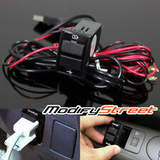 USB CHARGER/AUDIO PORT INTERFACE FOR 2007-2009 HONDA CIVIC FD BLANK SWITCH HOLE