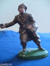 Soldat ancien  en  composition (linéol durso élastolin)