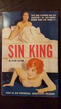 """Clyde Allison, Sin King,"""" 1962, Midnight Reader MR424, VG+, 1st"""
