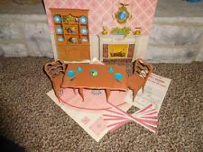 Vintage Barbie 1965 Go Together Dining Room Table and Chairs Set Chair - NC