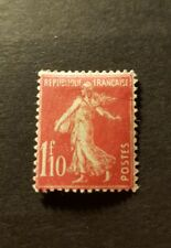 TIMBRE FRANCE TYPE SEMEUSE N°238 NEUF * MH 1927 COTE 12,50€