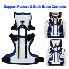 Head Neck Chest Back Brace Corrector Spinal Thoracic Spine Kyphosis Support TP