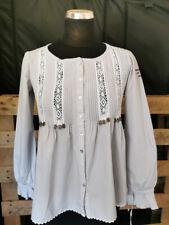 Blusa señora túnica Odd Molly talla 1 = 36-gris Weiss super Estado