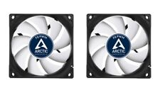 2 x Arctic Cooling F8 PWM 80mm Case Fan upto 2050 RPM (AFACO-080P2-GBA01)