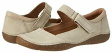 Ladies Clarks womens Autumn Stone Nubuck Leather Casual Shoes size 6.5 E new