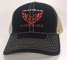 Pontiac Firebird Trans Am Logo Emblem Trucker Embroidered Hat Cap