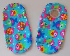 Colorful Fishies! Ostomy Ileostomy Colostomy Urostomy Catheter Bag Pouch Cover