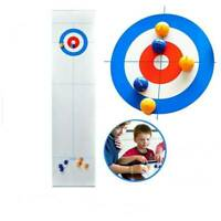 Indoor Family Curling Table Game Adult Training Kids Tabletop Ball Game Fun Toy
