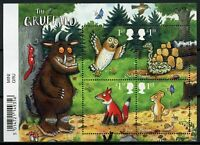 GB Gruffalo Stamps 2019 MNH Foxes Owls Snakes Squirrels Birds Cartoons 4v M/S
