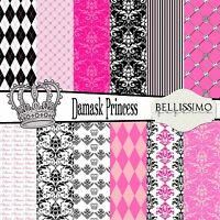 GRAPHIC 45 GPH4501800  PRINCESS COLLECTION PACK 12X12