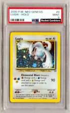 Pokemon Lugia Holo 9/111 Neo Genesis PSA 9 Mint Original