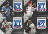 """2019 Topps Baseball - """"150th Anniversary Commemorative Patch"""" - Pick and Choose"""