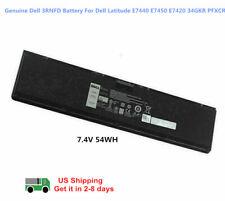OEM Genuine 3RNFD Battery For Dell Latitude E7440 E7450 E7420 34GKR PFXCR 54Wh